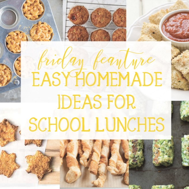 Easy Homemade Ideas for School Lunches
