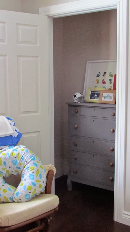 Creating extra room in a nursery.