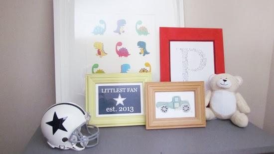 DIY Easy Nursery Art
