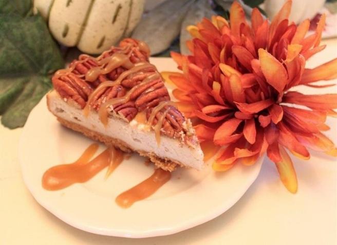Caramel Pecan Cream Cheese Pie