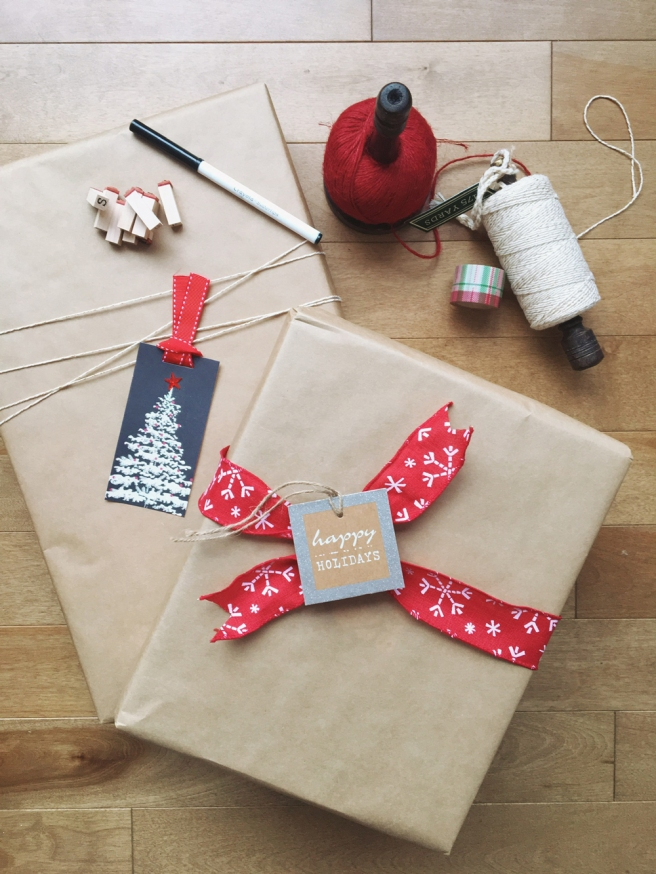 DIY Kraft Paper Wrapping Ideas