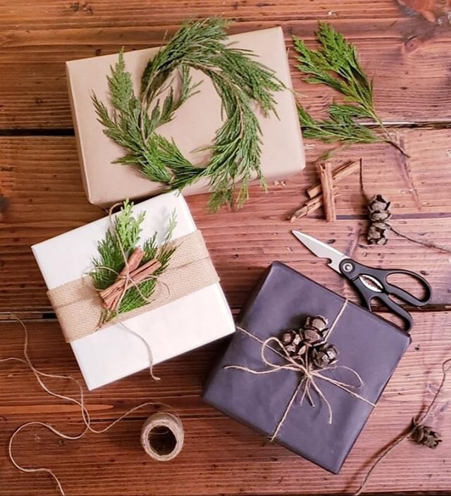 All Natural Wrapping from Farmhouse Fun